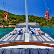 Cruise Turkey on a luxury woodent Turkish Gulet