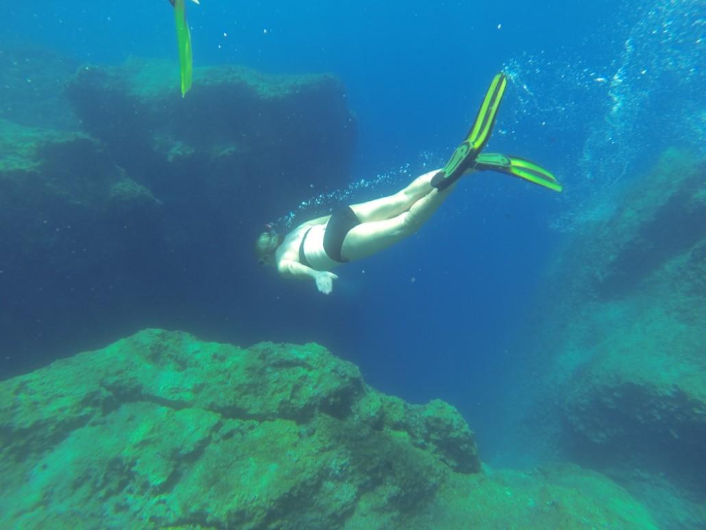 snorkeling kas canyon