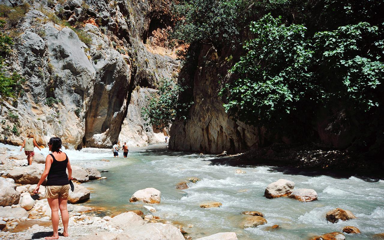 how to go Saklikent Gorge